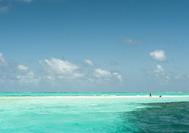 Farben des Meers von San Andrés