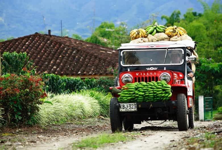 Kolumbien Reisen | Willys Jeep, Kaffeedreieck