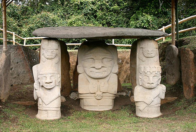 Kolumbien Reisen | Steinskulpturen, San Agustin