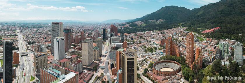 Kolumbien Reisen | Panorama Bogotá