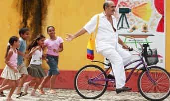 Kolumbien Urlaub | Leute in den Strassen von Cartagena
