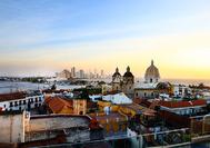 Panorama von Cartagena