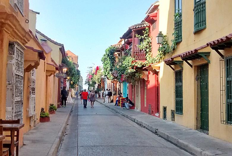 Kolumbien Reisen | In der Altstadt von Cartagena
