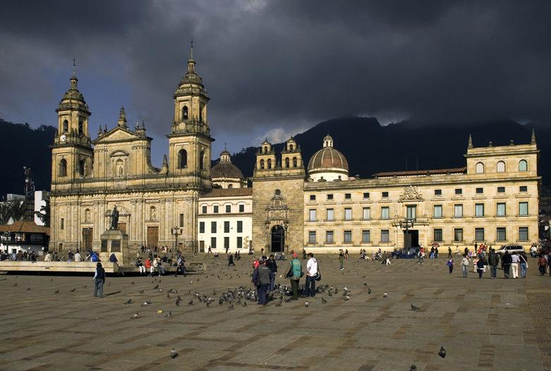 Kolumbien Reisen | Plaza de Bolivar, Bogotá