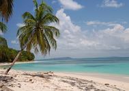 Strand der Islas Zapatillas