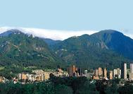 Panorama von Bogotá