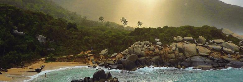 Beste Kolumbien Reisezeit | Tayrona Strand