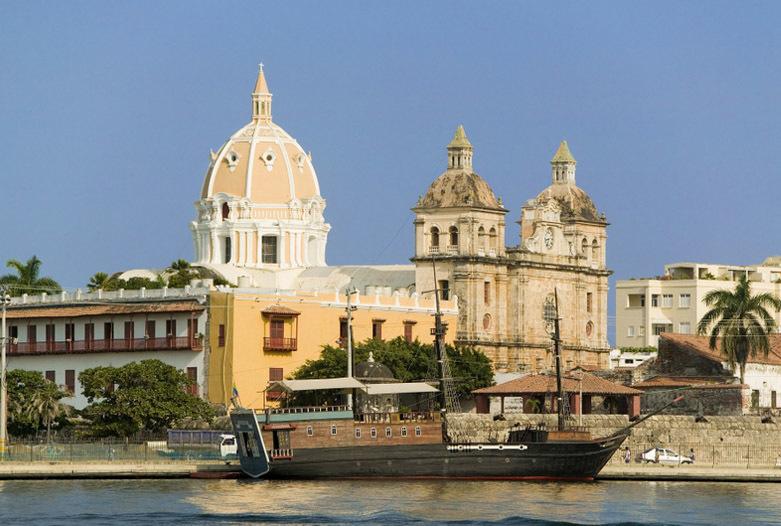 Kolumbien Reisen | Blick auf Cartagena