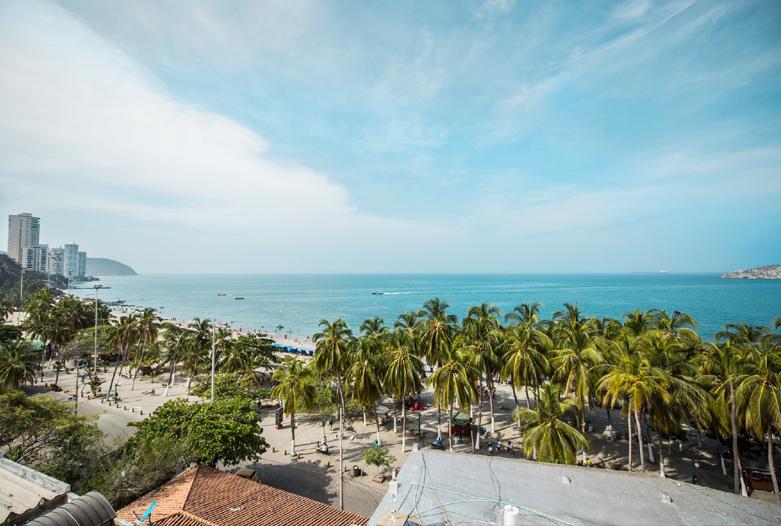 Kolumbien Reisen | Strand von Santa Marta