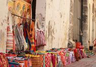 Handgefertigte Taschen zum Verkauf in Cartagena de Indias