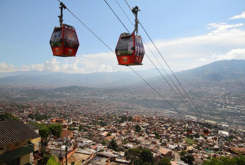 Kolumbien Reisen | Seilbahn von Medellin