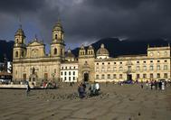 Plaza de Bolivar in Bogotá