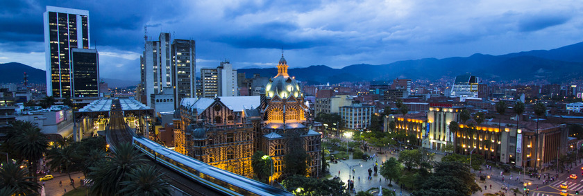 Kolumbien Reisen | Panorama Medellin