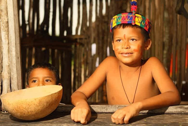 La Guajira | Indianerkinder der Wayúu