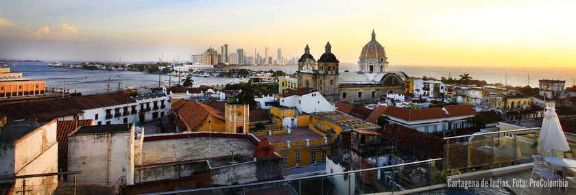 Kolumbien Reisen | Panorama Cartagena de Indias