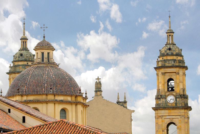 Kolumbien Reisen | Türme der Kathedrale von Bogotá